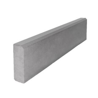 Поребрик серый бетонный ARTSTEIN 1000х200х80