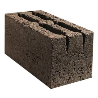 СКЦ Блок фундаментный Щелевой (на щебне) М75 390*190*190