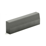 Поребрик серый бетонный Зенит Черноземье 1000х200х80