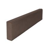 Поребрик коричневый бетонный Бел-Блок 1000х200х80